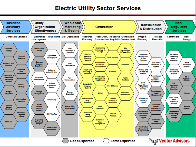 Electric Utility Sector Services